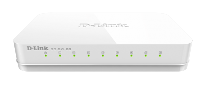 Switch 8 porturi Gigabit, D-LINK GO-SW-8G