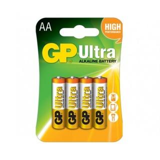 GP Baterie Ultra Alcalina R6 AA 4buc GP15AUP-2UE2