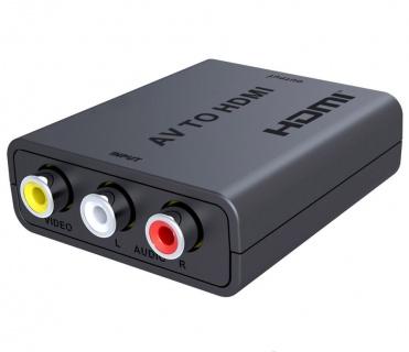 Convertor Composite 3 x RCA la HDMI Full HD