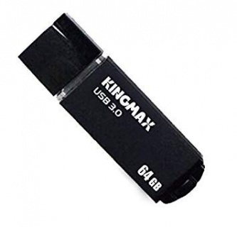 Stick USB 3.0 64GB MB-03 compact, aliaj aluminiu Black, Kingmax