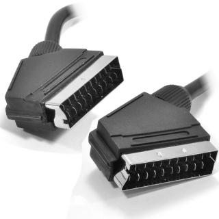 Cablu Scart la Scart T-T 2m Negru, KTCBLHE11001A