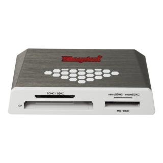 Cititor de carduri USB 3.0 la micro SD/SD/MS/microMS/MMC, Kingston FCR-HS4
