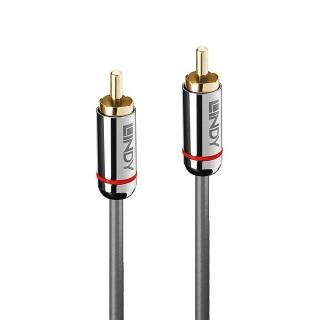 Cablu audio Digital Coaxial 0.5m T-T Cromo Line, Lindy L35338