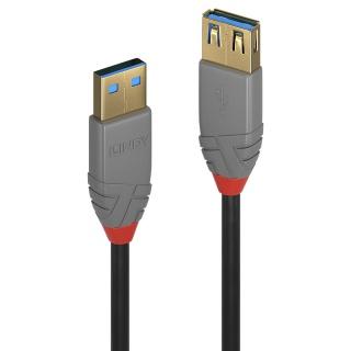 Cablu prelungitor USB 3.0 T-M 1m Anthra Line, Lindy L36761
