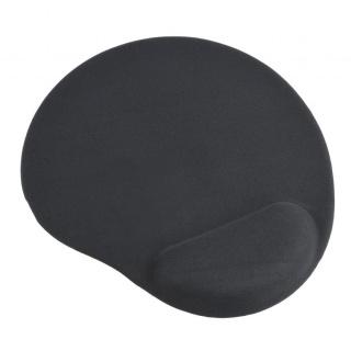Mouse pad cu gel baza de cauciuc antiderapanta Negru, MP-GEL-BK
