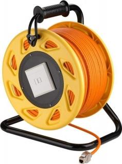 Rola cablu de retea prelungitor cat 7A SFTP LSOH 50m, Goobay 58934