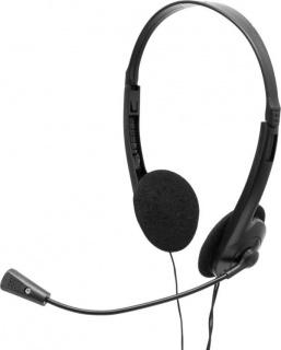 Casti cu microfon Negre, SPACER SPK-223