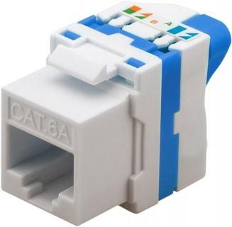 Modul Keystone cat 6A UTP tool-free cu buton de rotire, 93827