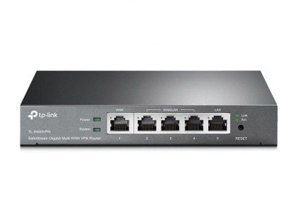 Router SafeStream Gigabit Multi-WAN Desktop VPN, TP-LINK TL-R600VPN