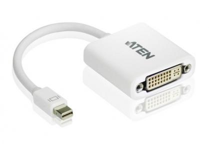 Adaptor Mini Displayport la DVI T-M Alb, ATEN VC960