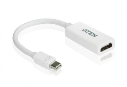 Adaptor Mini Displayport la HDMI T-M Alb, ATEN VC980
