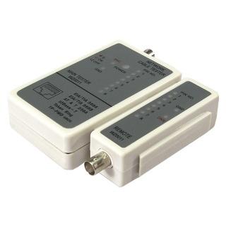 Tester retea RJ45 + BNC, Logilink WZ0011