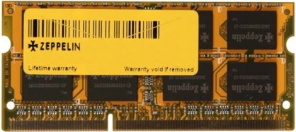 Memorie SODIMM DDR3/1600 2GB (dual channel), Zeppelin ZE-SD3-2G1600