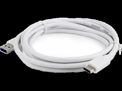 Cabluri USB 3.0 tip A la USB tip C T-T 1.8m Alb, Gembird CCP-USB3-AMCM-6-W