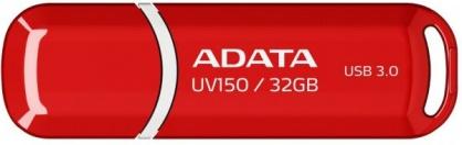 Stick USB 3.1 cu capac 32GB UV150 Rosu, ADATA AUV150-32G-RRD