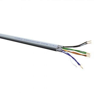 Cablu retea FTP Cat.5e, AWG26, 300m, Roline 21.15.0121