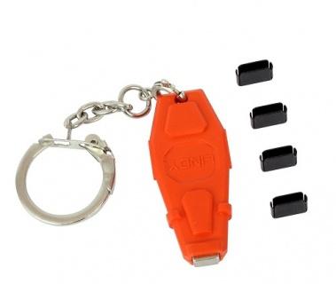 Set 4 port blocker USB-C / Thunderbolt 3 cu cheie, Lindy L40459