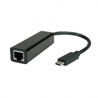 Adaptor USB-C la RJ45 Gigabit, Value 12.99.1115