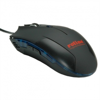 Mouse optic USB Gaming negru, Roline 18.01.1084