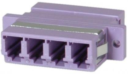 Adaptor fibra optica LC-LC OM4 cvadruplu, Value 21.99.0661