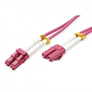 Cablu fibra optica LC-LC OM4 duplex multimode 15m, Value 21.99.8756