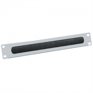 "Panou cabluri cu perii ghidaj 19"" 2U RAL7035 Gri deschis, Value 26.99.0314"