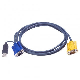 Cablu KVM USB-PS/2 SPHD 6m, ATEN 2L-5206UP