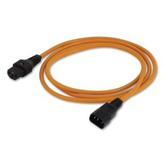 Cablu prelungitor alimentare C13-C14 cu blocare 2m, Lindy L30259