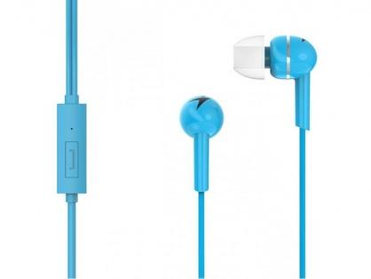 Casti interne cu microfon HS-M300 Blue, Genius