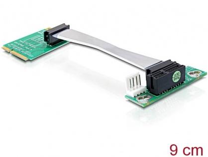 Riser card Mini PCI Express la PCI Express x1 insertie stanga, Delock 41305