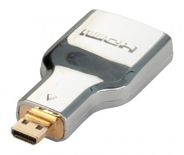 Adaptor HDMI la micro HDMI-D CROMO M-T, Lindy L41510