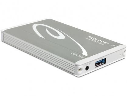 Rack extern USB 3.1 Gen 2 la 2 x CFast cu RAID, Delock 42582
