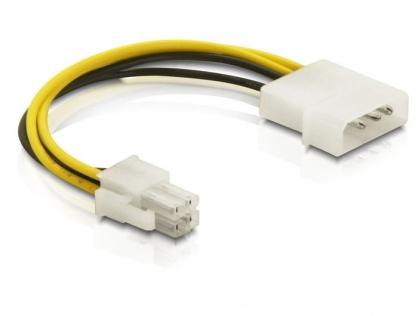 Cablu intern alimentare P4 (Intel) la Molex 15cm, Delock 82391