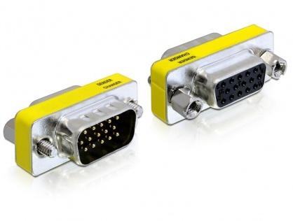 Adaptor VGA 15T-15M, Delock 65250