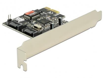PCI Express cu 2 Porturi SATA II, Raid, Delock 70137