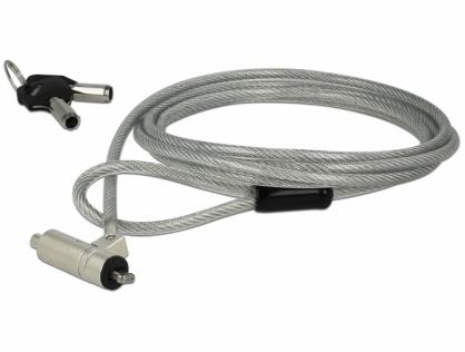 Cablu de securitate notebook cu cheie pentru HP Nano, Navilock 20655