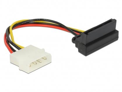 Cablu de alimentare SATA la Molex in unghi, Delock 60104