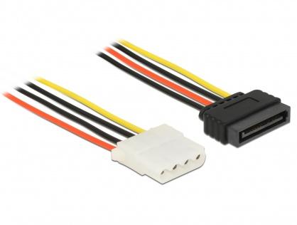 Cablu de alimentare SATA la Molex T-M 20cm, Delock 60136