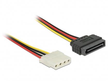 Cablu de alimentare SATA la Molex T-M 100cm, Delock 60140