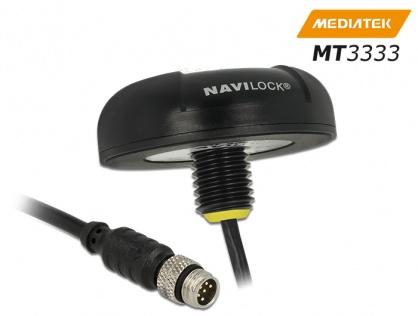 NL-3331 M8 Serial Multi GNSS Receiver MT3333 0.5m, Navilock 60326