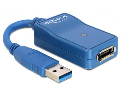 Adaptor USB 3.0 la eSATA, Delock 61754