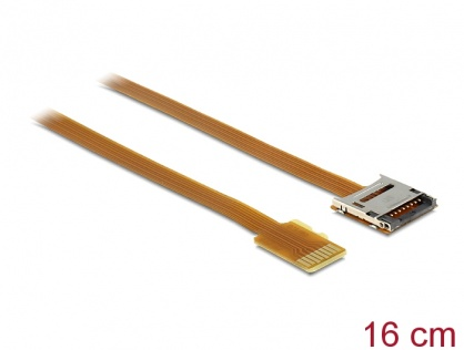 Cablu prelungitor Micro SD T-M 16cm, Delock 61870