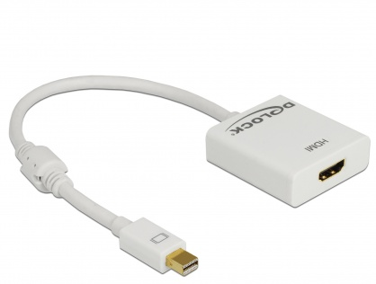 Adaptor mini Displayport la HDMI T-M 1.2 4K Activ Alb, Delock 62612
