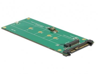 Convertor U.2 SFF-8639 NVMe la 1 x M.2 Key M, Delock 62865