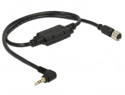 Cablu M8 waterproof la jack 2.5 mm 3 pini 90° LVTTL (3.3 V), Navilock 62933