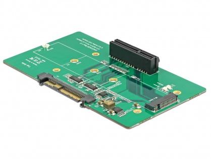 Adaptor U.2 SFF-8639 la PCIe/M.2 Key M slot, Delock 63951