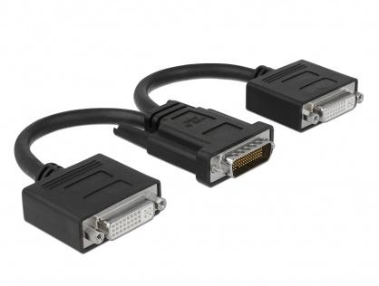 Cablu spliter DMS-59 la 2 x DVI T-M, Delock 65281