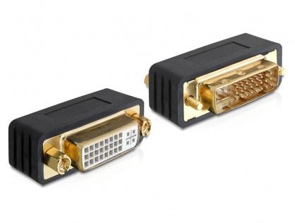 Adaptor DVI-I Dual Link 24+5pini T-M, Delock 65298