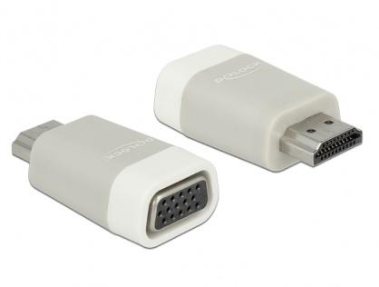 Adaptor HDMI la VGA T-M, Delock 65472