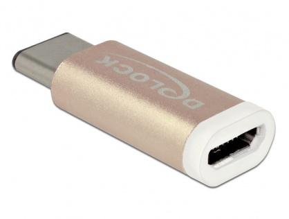 Adaptor micro USB la USB tip C 2.0 M-T, Delock 65677